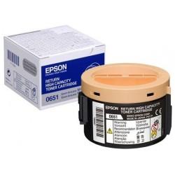 Tóner Epson C13S050651 Negro