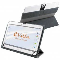"Funda para Tablet de 10"" E-Vitta Camera Free Plata"