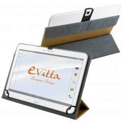 """Funda para Tablet de 10"""" E-Vitta Camera Free Dorada"""
