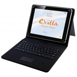 """Funda para Tablet de 7-8"""" E-Vitta KeyTab USB Touchpad Negra"""