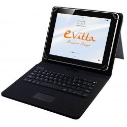 """Funda para Tablet de 10"""" E-Vitta KeyTab USB Touchpad Negra"""