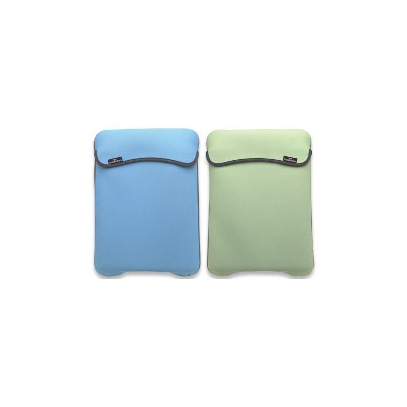 "Funda Portátil 9"" Manhattan Reversible Azul/Verde"