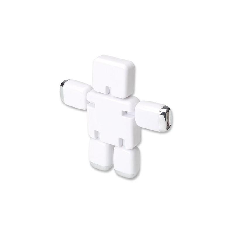 Hub USB de 4 Puertos Manhattan Robot