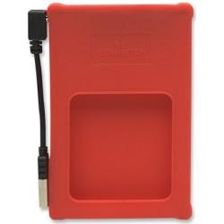 "Caja USB Disco 2,5"" SATA Manhattan Roja"