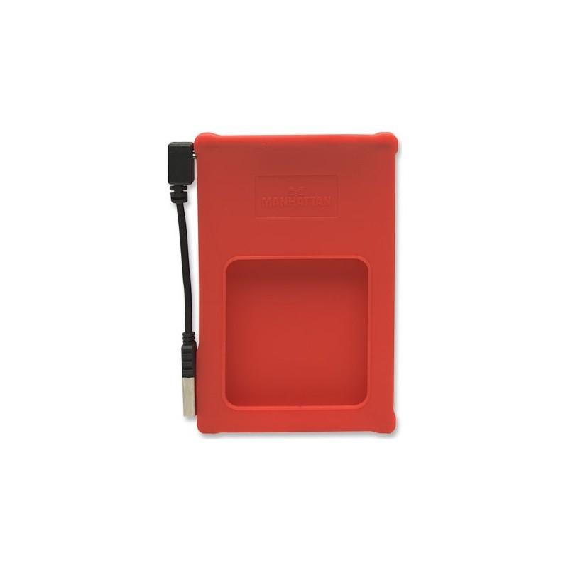 "USB Disk Box 2.5 ""SATA Red Manhattan"