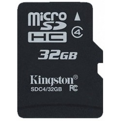 Tarjeta MicroSD 32GB Kingston SDC4
