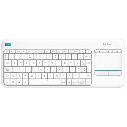 Teclado Wireless Logitech K400 Plus Blanco