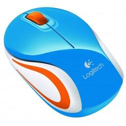Ratón Wireless Logitech M187 Azul