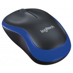 Logitech Wireless Mouse M185 Black / Blue