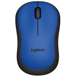 Logitech Wireless Mouse M220 Blue Silent