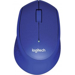 Logitech Wireless Mouse M330 Plus Silent Blue