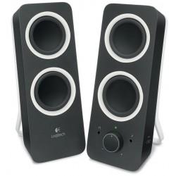 Logitech Z200 2.0 Speaker Black
