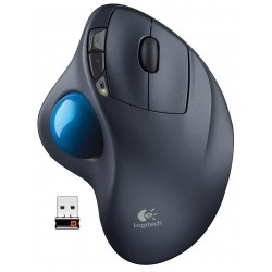 Raton Wireless Logitech M570 Trackball