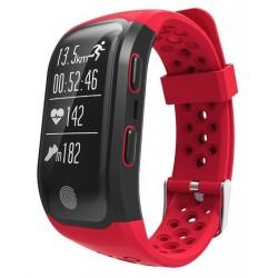 Pulsera Fitness Leotec GPS Training Band Roja