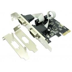 Tarjeta PCIe 2 Puertos...