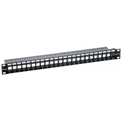 CAT.6 Patch Panel 24 Ports Equip