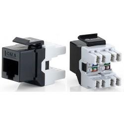 Conector RJ45 Hembra UTP CAT.6 Equip 8 Uds
