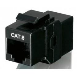 Adaptador RJ45 Hembra CAT.6 para Panel Equip 8 Uds