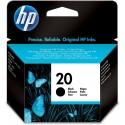 HP 20 Black Ink C6614DE
