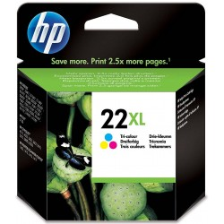Tinta HP 22XL Color C9352CE