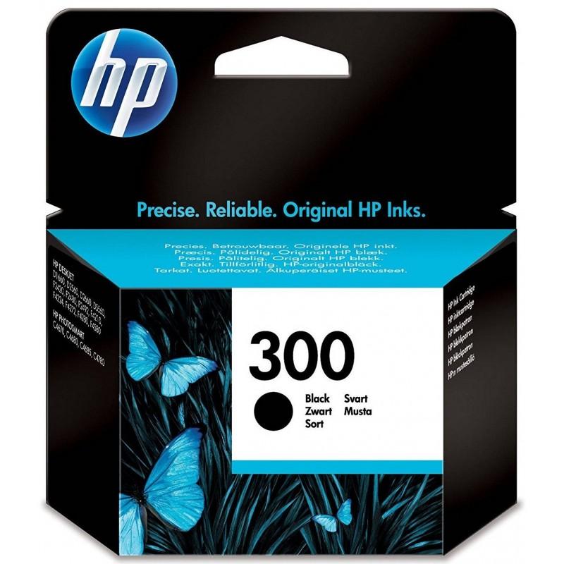 HP 300 Black Ink CC640EE