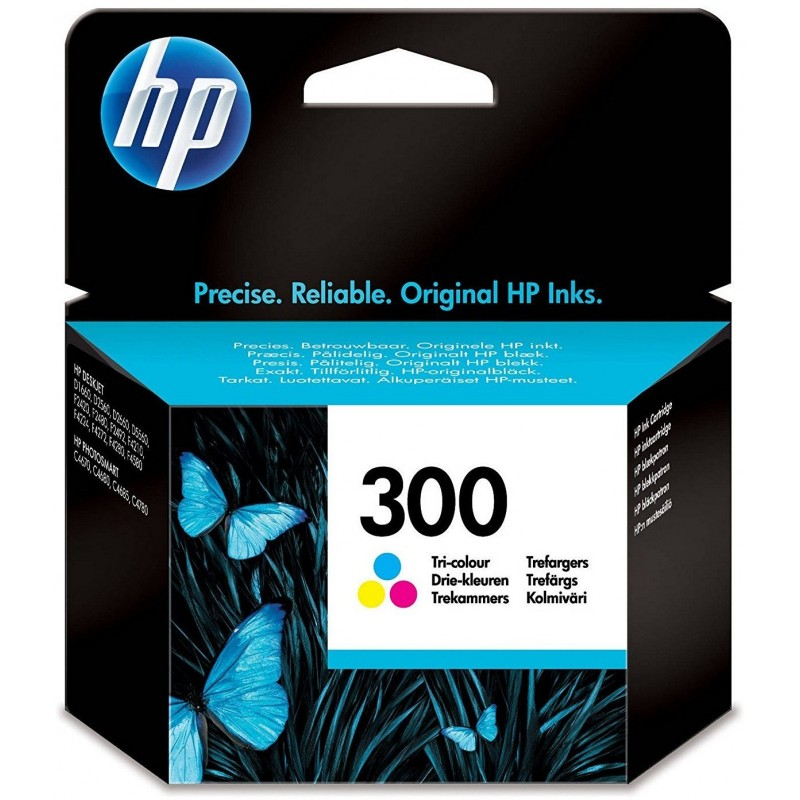 Tinta HP 300 Color CC643EE