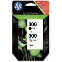 Tinta HP 300 Pack Negro/Color CN637EE