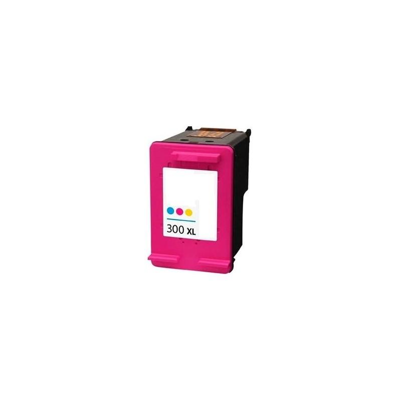 Tinta Compatible HP 300XL Color CC644EE