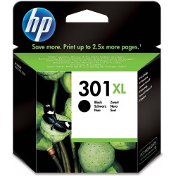 Tinta HP 301XL Negro CH563EE