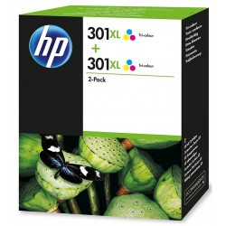 Tinta HP 301XL Color x2...