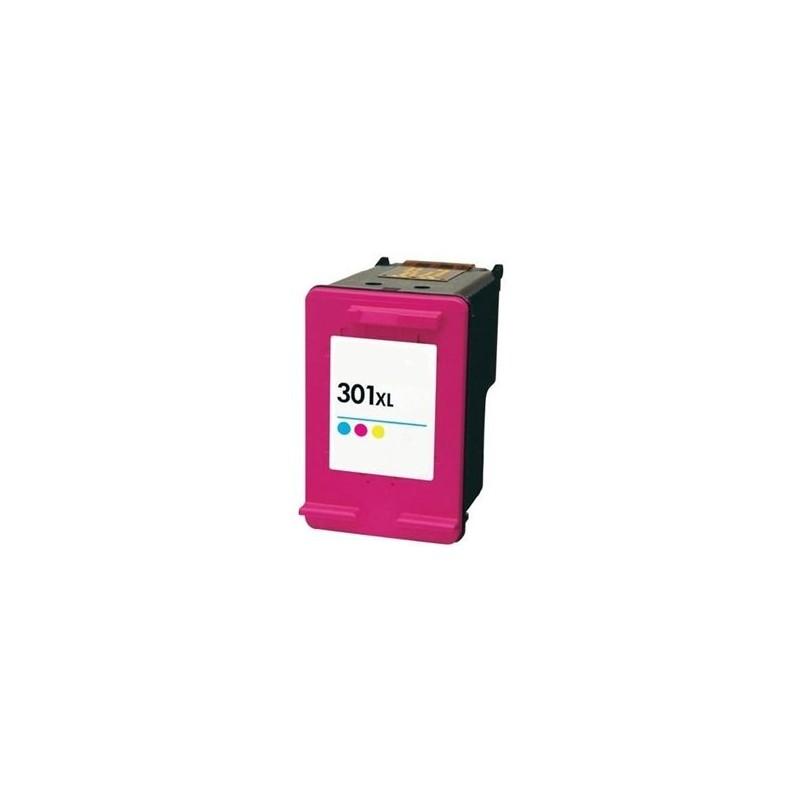 Tinta Compatible HP 301XL Color CH564EE
