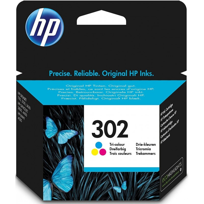 Tinta HP 302 Color F6U65AE