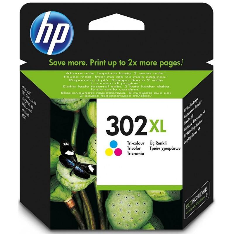 Tinta HP 302XL Color F6U67AE