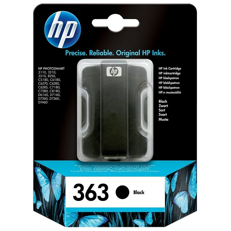 HP 363 Black Ink C8721EE