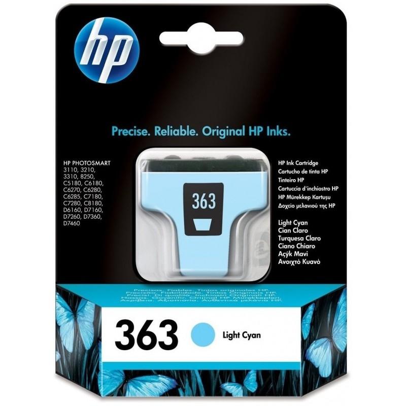 HP 363 Light Cyan Ink C8774EE
