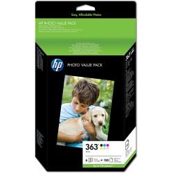 HP 363 Ink Pack of 6 colors Q7966EE