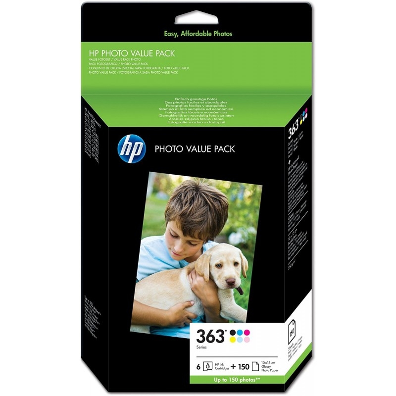 HP 363 Ink Pack of 6 colors Q7966EE