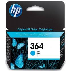 Tinta HP 364 Cian CB318EE