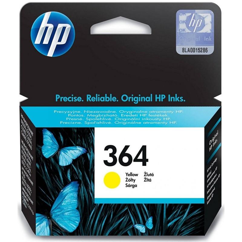 Tinta HP 364 Amarillo CB320EE