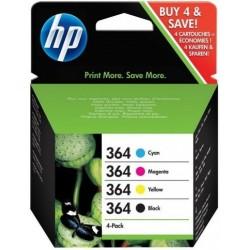 Tinta HP 364 Pack de los 4...