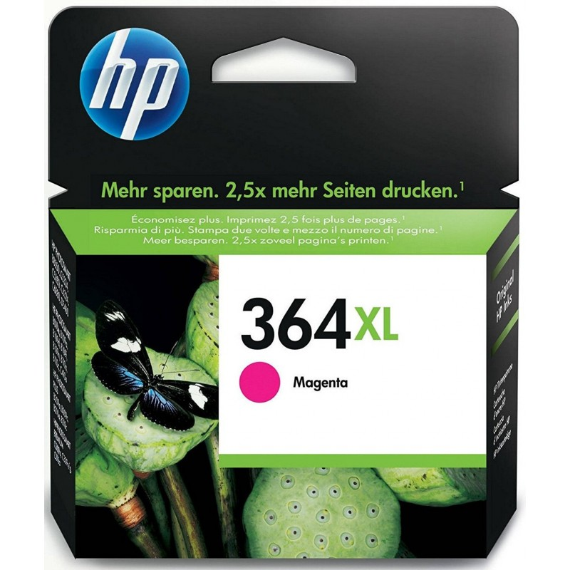 HP 364XL Magenta Ink CB324EE
