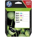 HP 364XL ink pack 4 colors N9J74AE