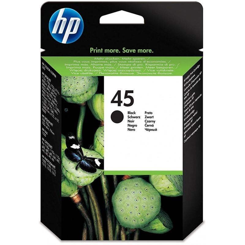 51645AE HP 45 Black Ink