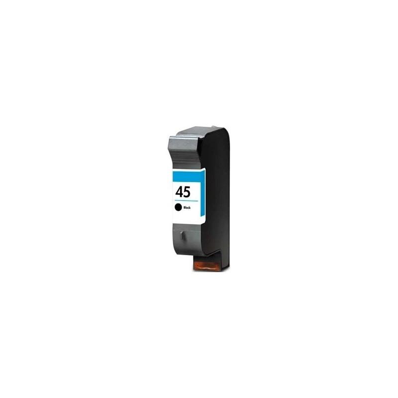 Tinta Compatible HP 45 Negro 51645AE