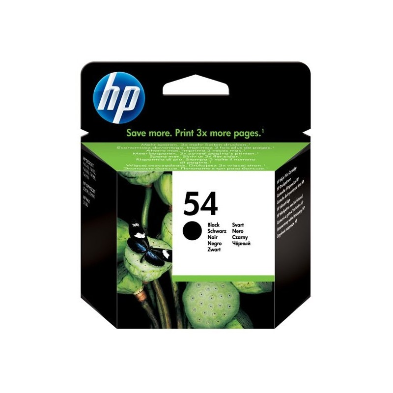 HP 54 Black Ink CB334AE