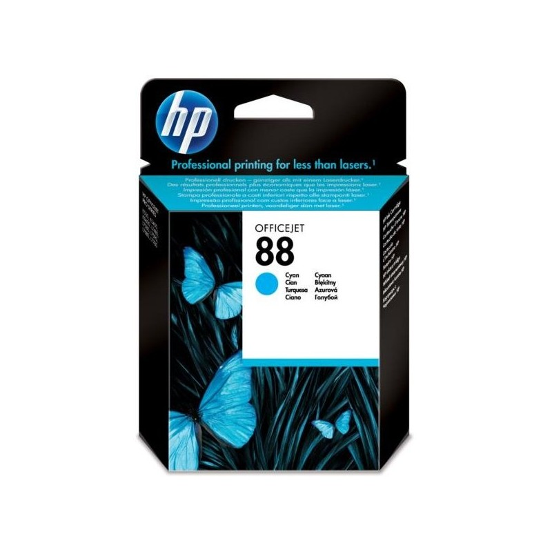 Tinta HP 88 Cian C9386AE