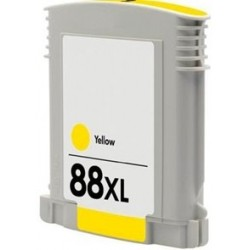 Tinta Compatible HP 88XL Amarillo C9393AE