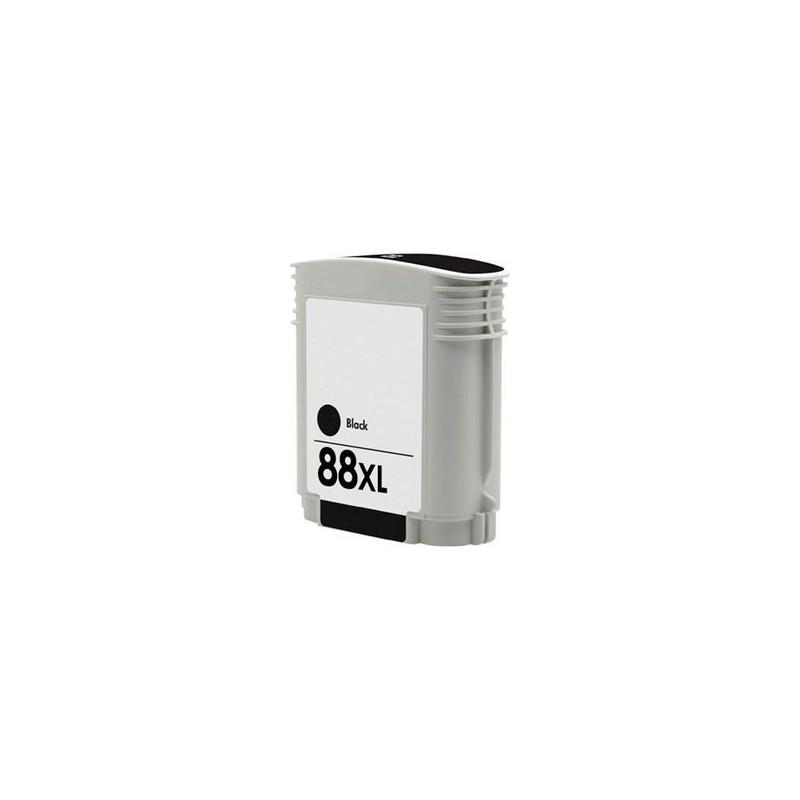 Tinta Compatible HP 88XL Negro C9396AE
