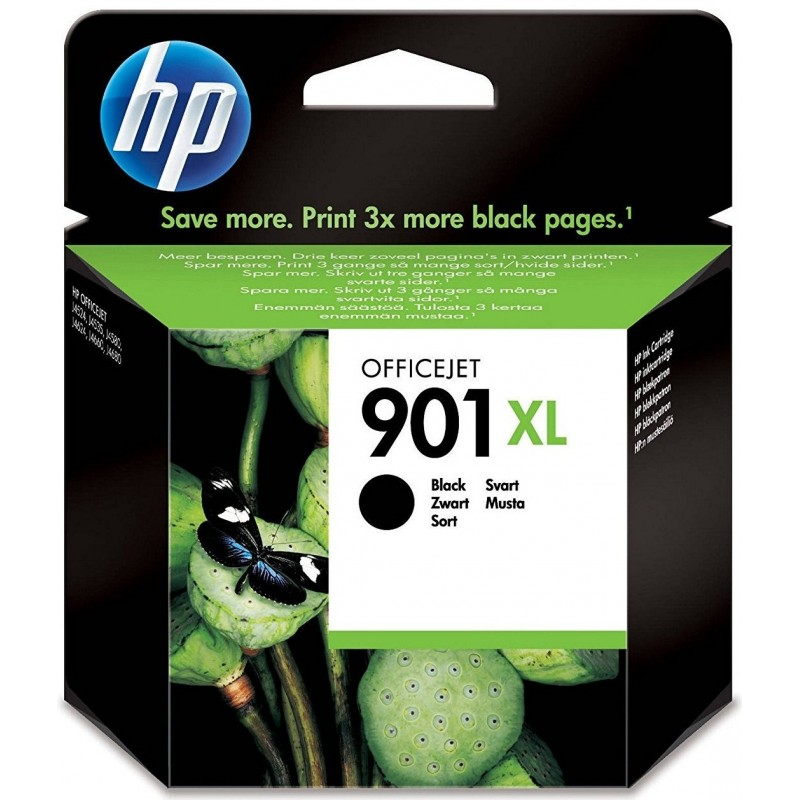 HP 901XL Black Ink CC654AE