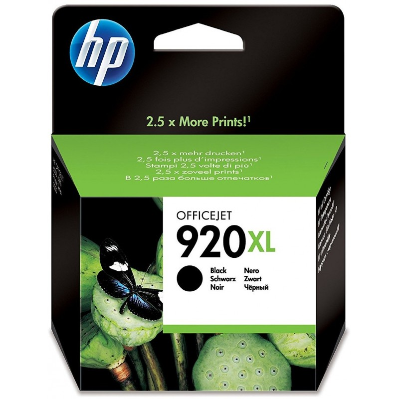 Tinta HP 920XL Negro CD975AE